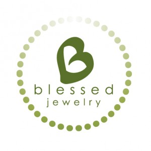 Logo for Blessed Jewelry, a separate product line from Temple