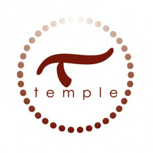 Logo for Temple, the maker of Mantra Body Moisturizer