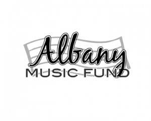 Another option for Albany Music Fund logo