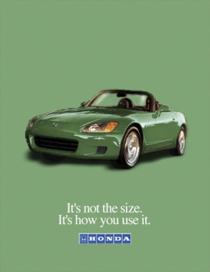 Ad Concepts and Design: Honda